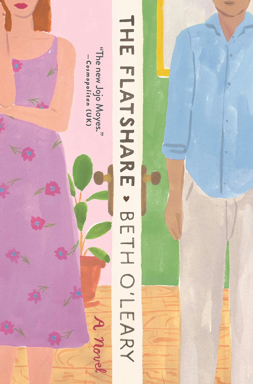 book, the flatshare, and beth o'leary image