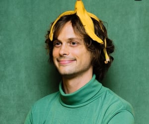 matthew gray gubler and banana image