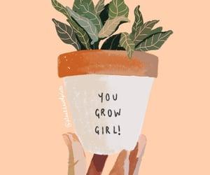 art, grow, and illustration image