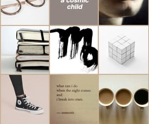aesthetic, mood, and black image