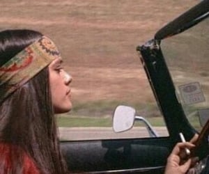 70s, girl, and peace image