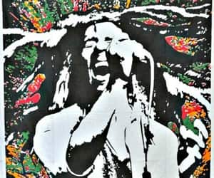 bob marley, etsy, and indian tapestry image