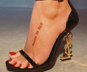 fashion, heels, and Devil image