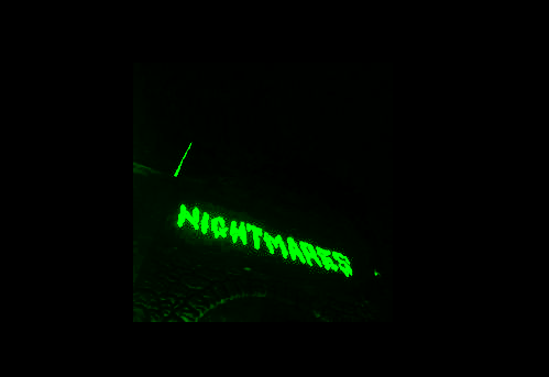 green and nightmares image