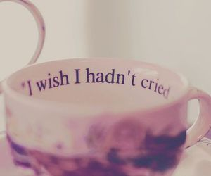 cry, cup, and wish image