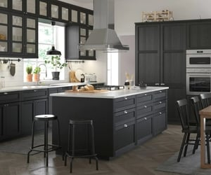 black, decoration, and home image