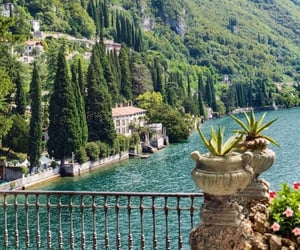 aesthetic, italy, and lake como image