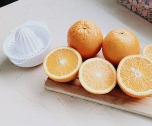 happiness, juice, and orange image