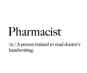 definition, quotes, and pharmacist image