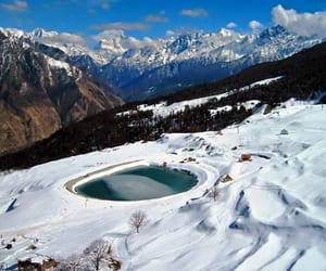 india, travel, and auli image