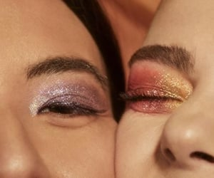 eyes, eyeshadow, and glamour image