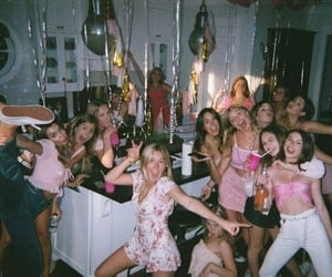 alcohol, club, and girls image