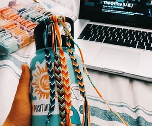 summer, vsco, and hydroflask image