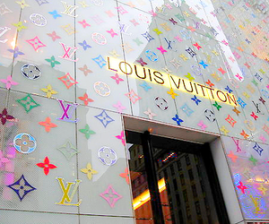 Louis Vuitton, store, and LV image
