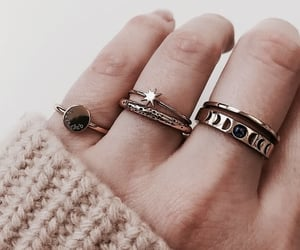 rings, fashion, and style image