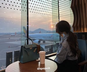 airlines, asian girl, and beautie image