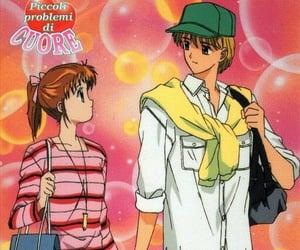 90s, anime, and couple image