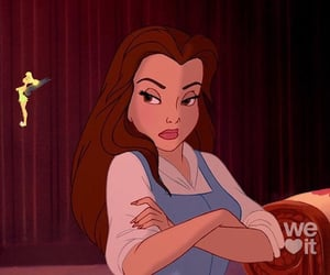 belle, cartoons, and disney image