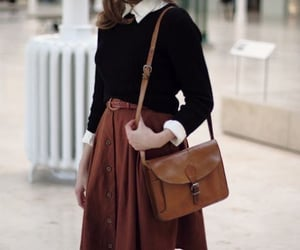 fashion, vintage, and bag image