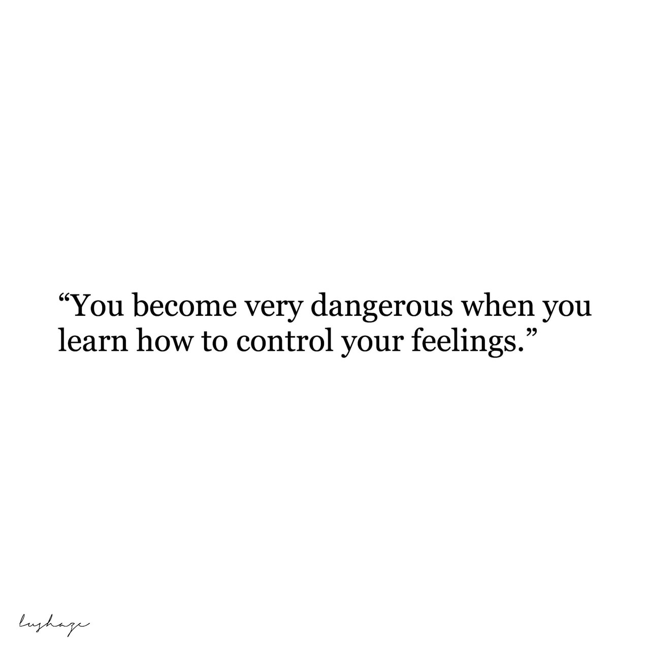 quotes, dangerous, and feelings image