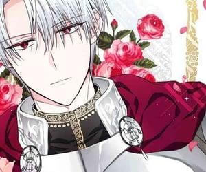 anime, white hair, and anime boy image