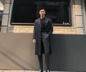 actor, black suit, and boyfriend image