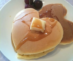 food, pancakes, and aesthetic image