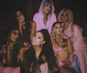 ariana grande, friends, and pink image