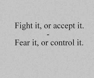 quotes, fight, and fear image