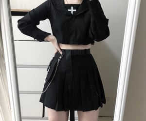 aesthetic, asian, and clothes image