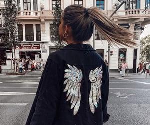 fashion, city, and hair image