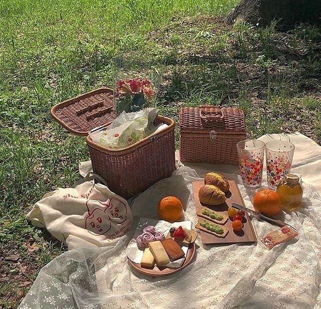 bread, cheese, and orange juice image