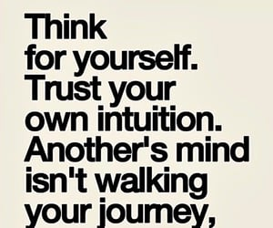 journey, life, and intuition image
