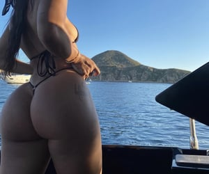 body, girl, and booty image