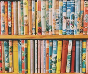 aesthetic, book store, and books image