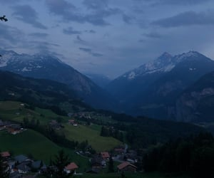 aesthetic, europe, and mountains image
