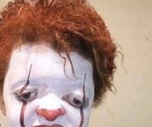 meme and clown image