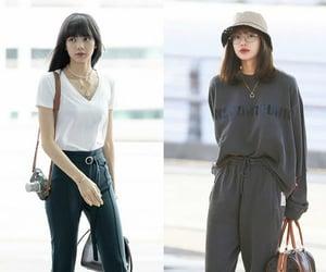 kpop, lisa, and outfits image