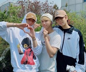 stray kids, hyunjin, and seungmin image