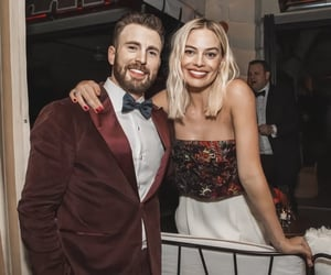 chris evans, harley quinn, and icon image