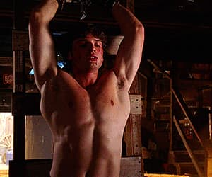 clark kent, muscles, and shirtless image