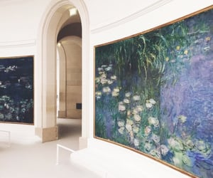 art, monet, and indie image