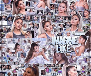 aesthetic, editing, and ariana image