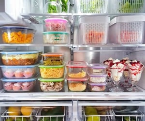 food and organize image