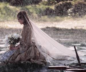 rain, keira knightley, and wedding image