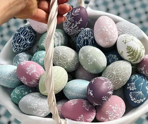 easter, egg, and pastel image