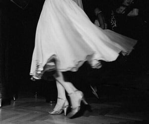 vintage, dance, and dress image