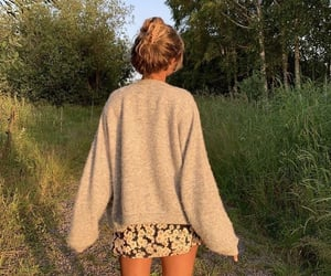 indie, nature, and outfit image