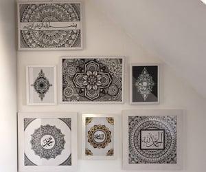 arabic, calligraphy, and kunst image