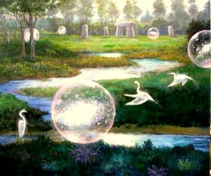 journey, visionary art, and transformations image